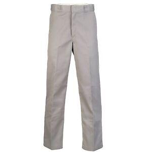 Dickies-Original-874-Work-Pant-Feizeit-chino-Herren-Hose-Silver-Grey