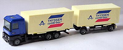 Tireless Renault Ae Thyssen Combi-box Exchange Suitcase Roadtrain 1:87 Albedo Toys, Hobbies Automotive