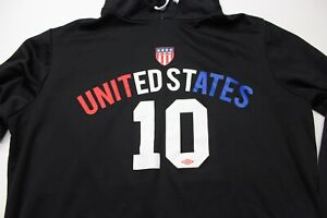 Umbro-United-States-Soccer-Hoody-SWEATER-Large-L-Athletic-Fit