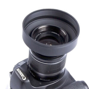 77Mm-Universal-3-Stage-Rubber-Collapsible-Lens-Hood-For-Dslr-Camera-Photo