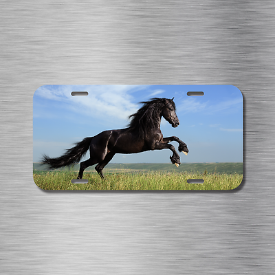 Horse Dressage Hunter Jumper License Plate Front Auto Tag Plate Horse Lover NEW