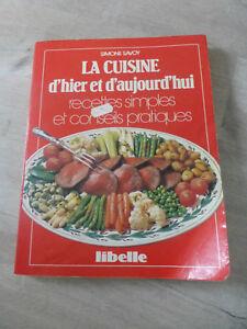 ancien livre recettes la cuisine d 039 hier