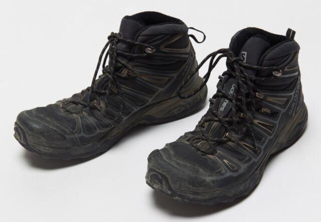 separation shoes e758f f404d Salomon X Ultra 2 Mid GTX Hiking BOOTS Men's Size 8 Black/grey