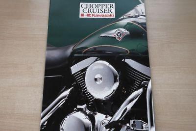 Automobilia Auto & Motorrad: Teile 193677 Kawasaki Vn 1500 800 En 500 El 252 Prospekt 1998 Profit Small