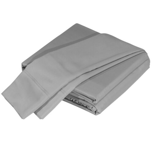 Premium 100/% Viscose from Bamboo Luxuriously Soft and Comfortable 4-Piece Sheet