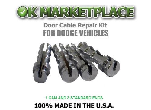 Dodge Dakota Pickup Truck//Dakota Truck Cable Repair Kit #DAK1B3A Suicide Door