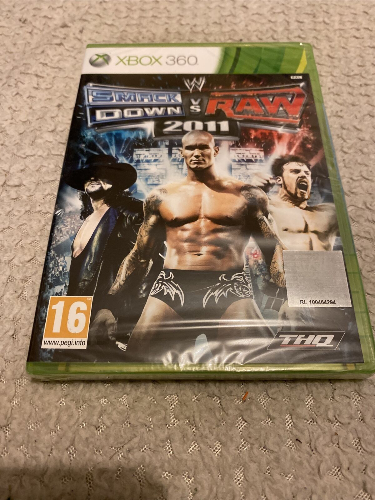 Game Xbox 360/One Pal Fr New Blister Smackdown Vs Raw 2011 Wrestling Combat