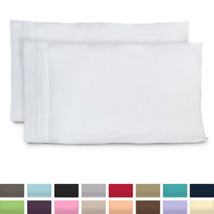 Cosy-House-1500-Ultra-Soft-Pillow-Case-Set-of-2-Standard-amp-King-Size-Pillowcases