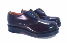 George Cox Solovair Dr. Martens Doc England Brown Steel Toe Gibson UK 6 US 8