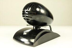 Art-Deco-Mikrophon-Dufono-Gio-Ponti-fuer-Ducati-Bakelit-Streamline-Design-30er
