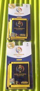 2 PCS CHILE PANINI BLISTER COPA AMERICA CENTENARIO 6 PACK OF STICKERS INSIDE