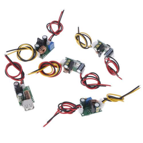 DC-DC step-down converter 120V 96V 84V 72V 60v 48v 36v to 5V 12v 24v USB powe lx