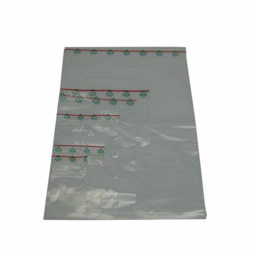 Größen Druckverschlussbeutel 50my Polybeutel LDPE ZIP Beutel Tüten Tütchen div