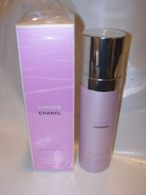 a0a369607e6 CHANEL CHANCE EAU TENDRE SHEER MOISTURE MIST PERFUME SCENTED BODY OIL 3.4 oz