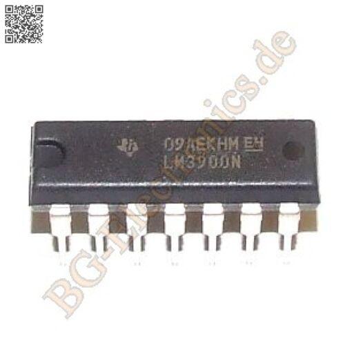 1 x LM3900N Operationsverstärker operational amplifier OPV OPA TI DIP-14 1pcs