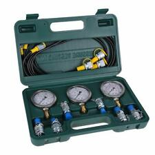 Hydraulic Tester Excavator Hydraulic Pressure Test Kit With Testing Hose Coupl