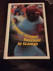MAJOR LEAGUE BASEBALL IN STAMPS BOOK WITH ALL GRENADA STAMPS COMPLETE MLB