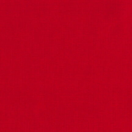 Solid 100/% Cotton Fabric Patchwork Sewing Devon Plain Cotton Red