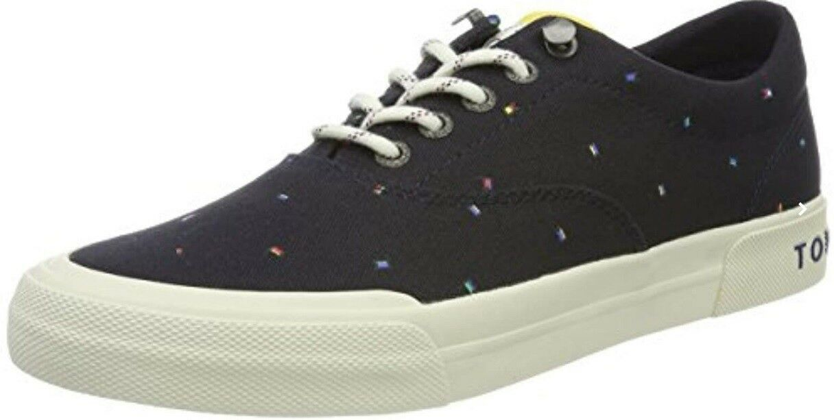 Tommy Hilfiger Homme Y2285armouth 1e2 Low-Top Sneakers, Bleu Midnight 842 EU