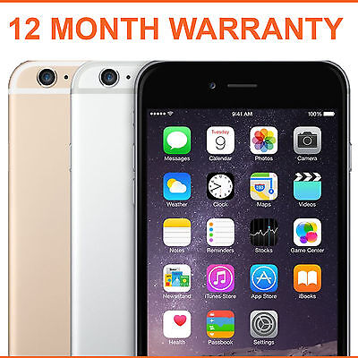 Apple iPhone 6 Plus 16gb 64gb 128gb Space Grey Silver Gold Unlocked Smartphone