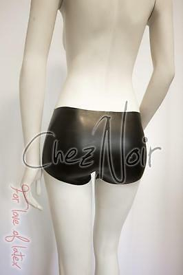 Latex Short Shorts - Unisex Mini Shorts - Black or Red  - Rubber Fetish Gummi