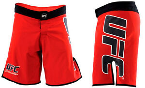 NEW-UFC-Fight-Shorts-Red-amp-Black-MMA-BJJ-Boxing-Kickboxing-Mixed-Martial-Arts