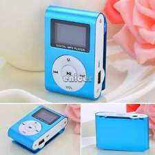 REPRODUCTOR MP3 PLAYER MINI CLIP USB MICRO SD TF 32GB 16GB 8GB MUSICA FM RADIO