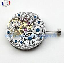 Mouvement de montre Seagull base Unitas 6498 squelette Mechanical watch movement