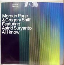 """Morgan Page Gregory Shiff - All I Know Feat. Suryanto 12"""" VG+ BED46 Vinyl 2003"""