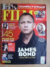 DANIEL CRAIG on front cover Polish Magazine FILM 10/2012 in. Vanessa Paradis