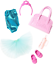 Ballet-Themed Clothing and Accessories for S Barbie Club Chelsea Accessory Pack