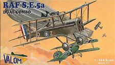 VALOM 1/144 KIT MODELLO 14404 RAF Royal Aircraft FACTORY se.5a DUAL COMBO