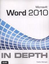 word 2013 in depth wempen faithe
