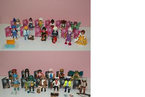 Playmobil 9333 Figurines Série 13 Filles Et 9332 Garçons Tous 24 Figurines