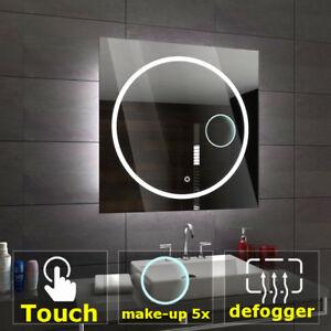 Athen éclairé del Miroir salle de bain LED interrupteurs maquillage ...