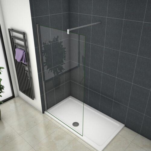 Walk in Duschwand 8//10mm Dusche Duschkabine Duschabtrennung 30-160cm NANO ESG W