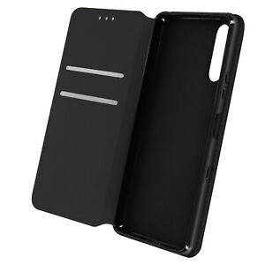 Cuir synthétique Cover Classic Edition, Klappetui pour Sony Xperia 10 III – Noir