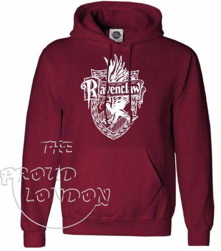 RAVENCLAW QUIDDITCH HARRY POTTER MAGIC FUNNY GIFT FASHION UNISEX PULLOVER HOODIE