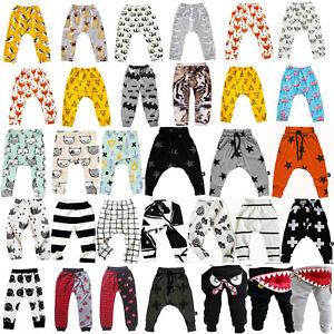 Newborn-Kids-Baby-Boys-Girl-Elastic-Harem-Pants-Toddler-Trousers-Leggings-Bottom