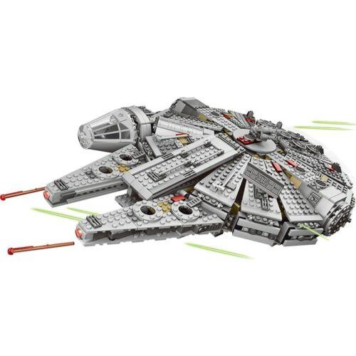 Force Awakens Star Set Wars Millennium 79211Model Building Blocks Bausteine004