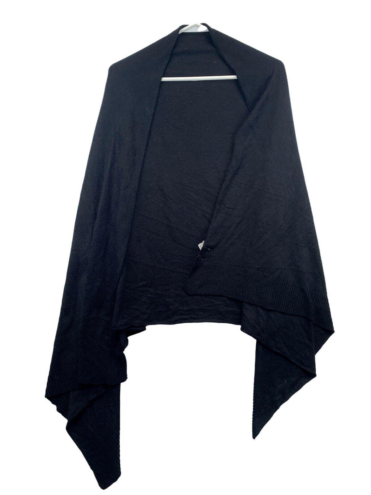 A new day scarf black size M acrylic