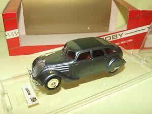 Peugeot 402 B 1938 Gris Foncé Tek Hoby 211 1:43 Finition Moyenne