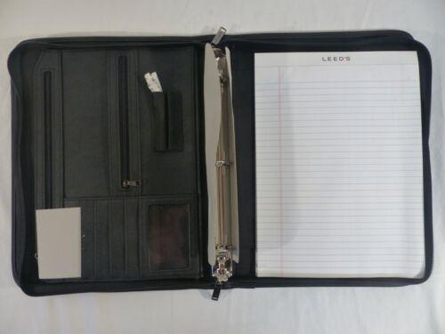 Leed/'s 0600-15bk DuraHyde Versa-Folio binder