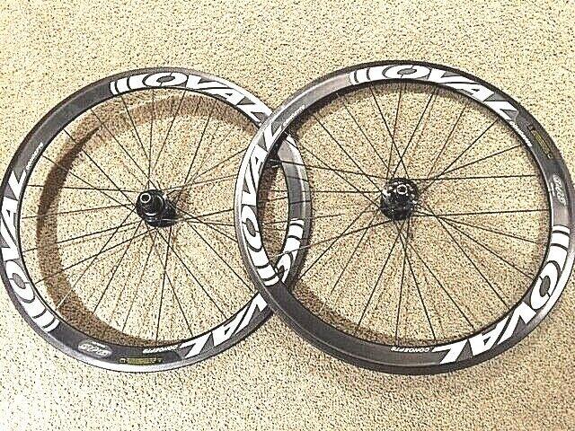 New   Oval Concepts 946CX Carbon Fiber Disc Brake 700c Tubular Wheels -MSRP  1499  save 60% discount