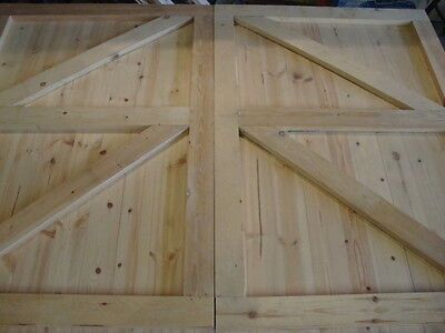 Handmade Tongue /& Grove Framed Gate Wooden Garden Gate Tongue /& Groove