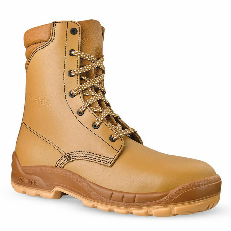 Tamaño 10 JALLATTE jalosbern Acero JJB21 Alto High Lace Up jalaska botas de punta de trabajo
