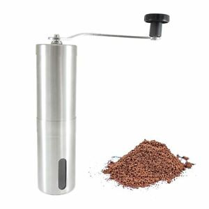 Details About Stainless Steel Ceramic Coffee Bean Grinder Manual Portable Hand Crank Mill Uk