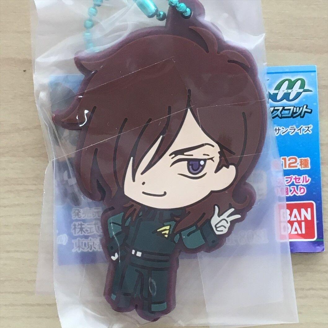 Rubber Strap Gundam 00 Setsuna Lockon Allelujah Tieria Ribbons Graham Saji