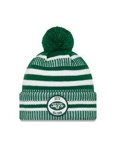 New-Era-NFL-new-York-Jets-Green-Home-2019-2020-Sport-Knit-Sideline-Beanie-Hat