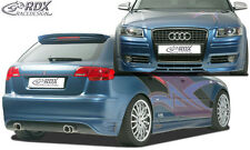 RDX Bodykit Audi A3 8PA Sportback Spoiler-Set Front Heck Ansatz Seitenschweller